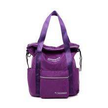 Women Backpack Female Style Solid Color Fashion Nylon Waterproof School Bags 10 colors Korean fashion trend shoulder bag