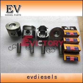 Cho Kubota V2003 V2003T V2003DI piston và piston ring 1G700-21110 1G363-21110