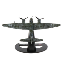 Junkers JU88 A 4 1942 Aircraft Bomber, 1/144 Scale Diecast Metal Model