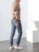 WE07488BA Fashion Men's Jeans 2018 Runway Luxury Brand European Design party style Men's Clothing