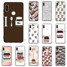 Hybrid Chocolate Food Tumblr Nutella Phone Cover for Xiaomi Redmi Note 4X Case 4A 5 Plus 5A Prime 6A 6 Pro Silicone