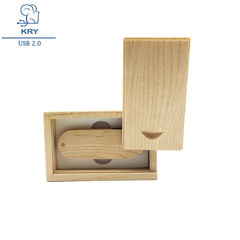 pen drive personalizado Universal Wood USB Flash Drive 128GB 64GB 32GB Personalized The Gifts for PC Flash Disk Memory Stick Mi