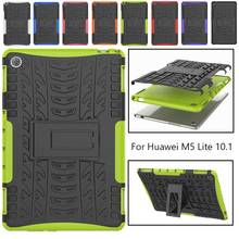 Case For Huawei MediaPad M5 Lite 10 BAH2-W19/L09/W09 10.1Tablet Case ShockProof Stand Cover for Huawei Mediapad M5 Lite 10 Case tablet case for for huawei mediapad m5 lite 10 1 bah2 w09 l09 w19 soft silicone case pu leather flip cover stand coque