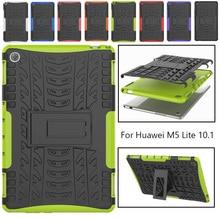 Case For Huawei MediaPad M5 Lite 10 BAH2-W19/L09/W09 10.1Tablet Case ShockProof Stand Cover for Huawei Mediapad M5 Lite 10 Case case for huawei mediapad m5 lite 10 bah2 w19 l09 w09 10 1tablet pc stand cover for huawei mediapad c5 10inch case stylus film