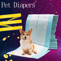 2017 New Arrival Super Absorbent Diaper Pet Dog Training Urine Pad Pet Diapers Size S XL