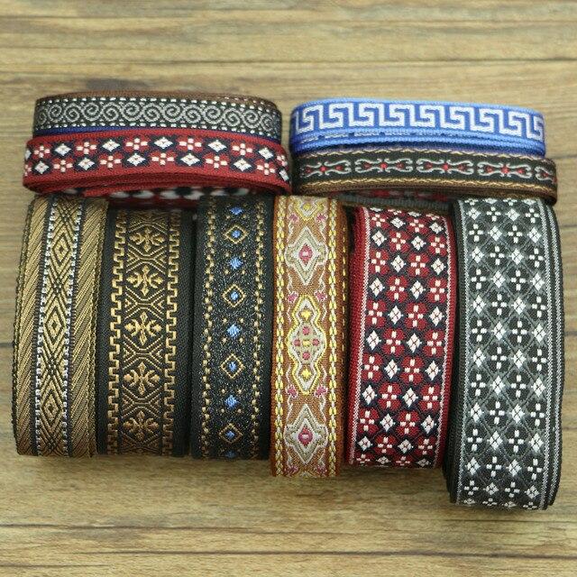 Бесплатная доставка 5 ярдов разные цвета на выбор национальная одежда с воротниками, манжетами, тканевый пояс аксессуары Q736