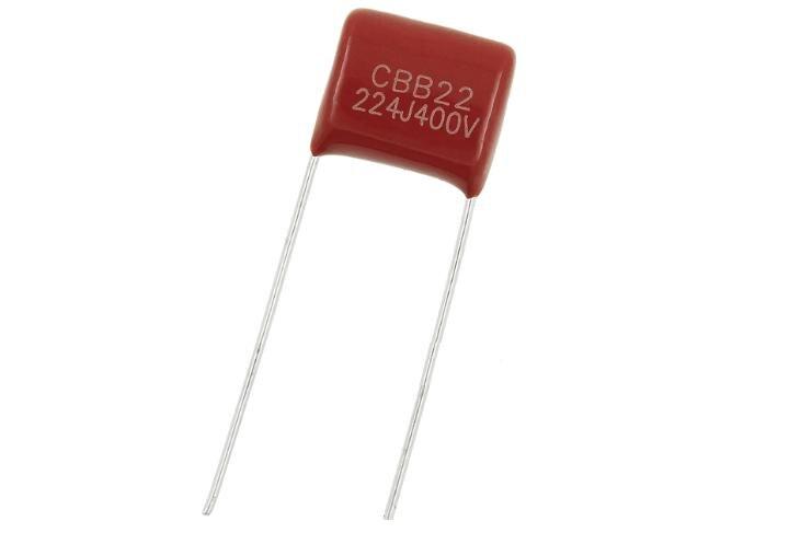 50pcs CBB Capacitor 400V 224 220NF 0.22UF pin pitch 10mm