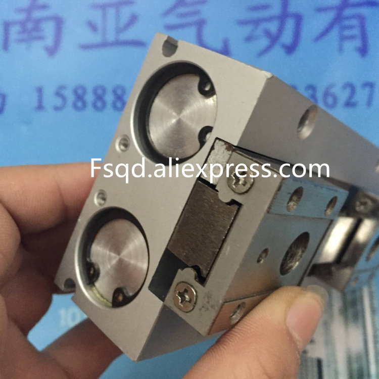 MHF2-20D1 Slinding cylinder Thin type Pneumatic gripper  air cylinder pneumatic component air tools MHF series mgpm63 200 smc thin three axis cylinder with rod air cylinder pneumatic air tools mgpm series mgpm 63 200 63 200 63x200 model