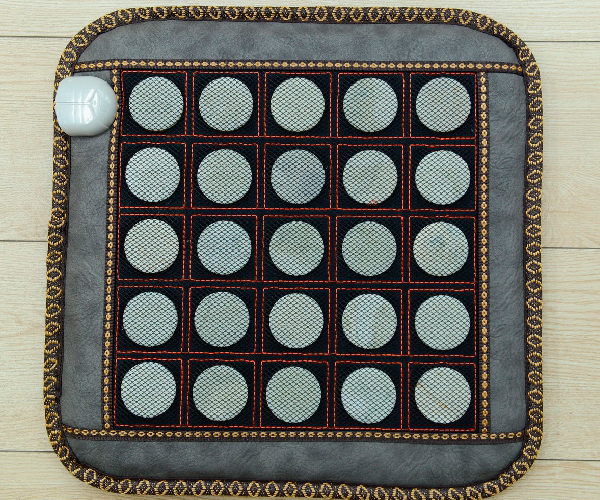 цена Heating Jade Cushion Natural Tourmaline Top Quality Massage Jade Cushion for Chair,chair and Sofa 45*45CM Free Shipping