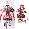Amor En Vivo! LoveLive Nueva SR Maki Nishikino cosplay Pequeño Demonio Transformado Uniforme Cosplay Traje de Halloween Para Las Mujeres Los Hombres