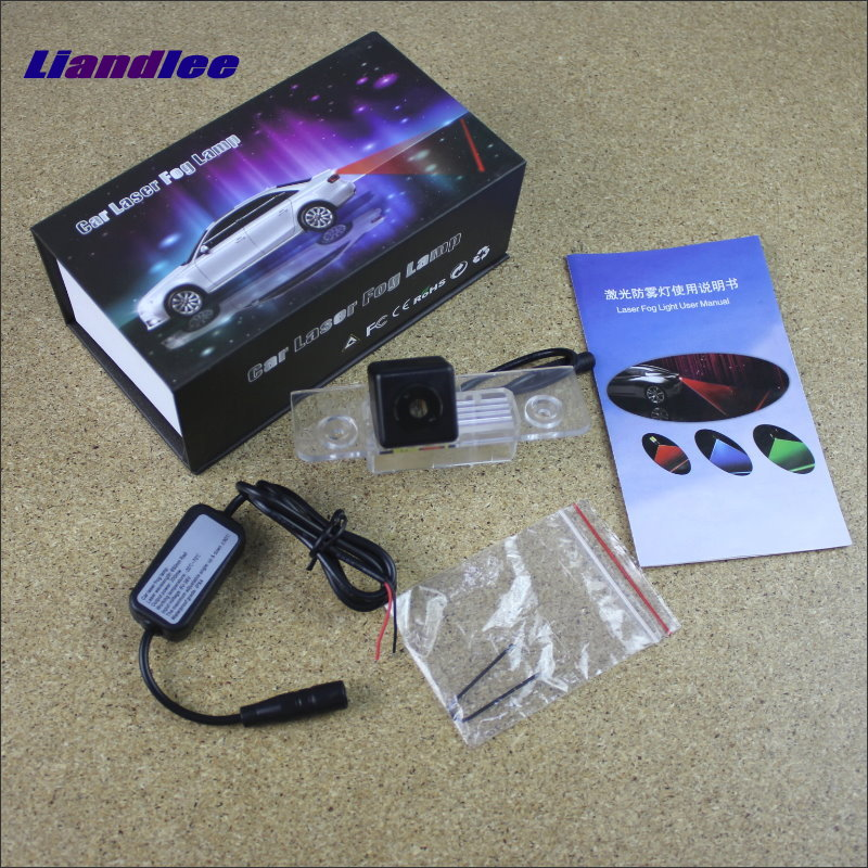 Liandlee Car Light For Ford Mustang GT / CS 2010~2014 Laser Shoot Lamp Prevent Collision Warning Fog Tail Decorative Light машина мет пламенный мотор 1 43 ford mustang gt откр двери цвета в ассорт