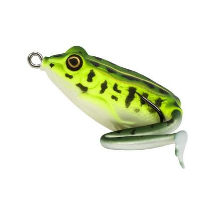 TSURINOYA LY11 High Quality Emulational Frog lure Fishing Lure 50mm/12g Topwater Simulation Frog Fishing Lures Soft Bass Bait trulinoya ray frog style soft plastic fishing lure bait green