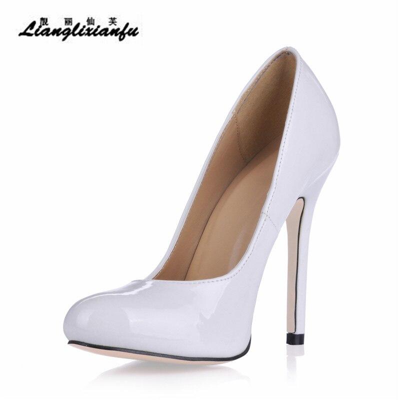 43 Llxf Bouche rose Talons Chaussures blanc Cm Mince De Pompes Shipping Plus41 Bout Profonde Noir 12 Mariage Peu 42 Femelle Drop Partie Stilettos Pointu Femme wkn0OP8