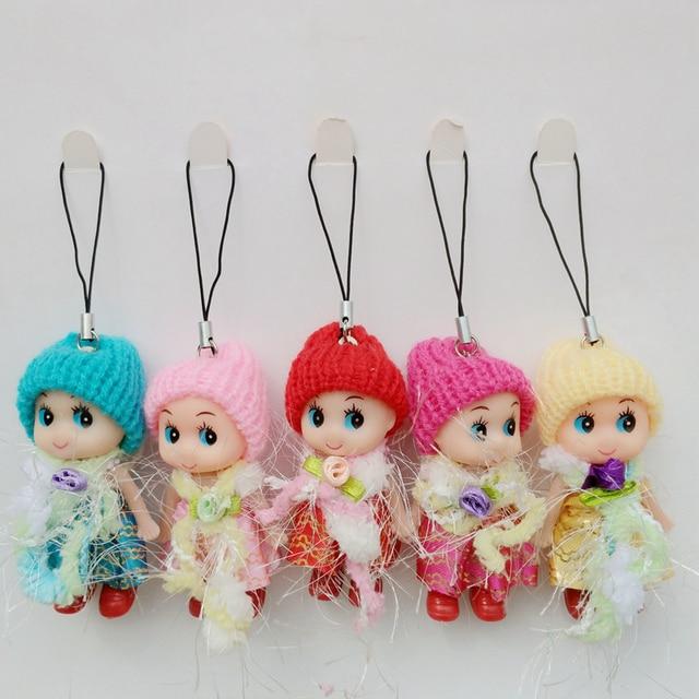 Nova Boneca Senhoras Meninas Toy Dolls Keychain Da Corrente Chave Chave Titular Chaveiro Llaveros Sleutelhangers Anahtarlik Brelok K681