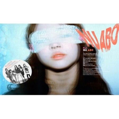 FX FIRST MINI ALBUM NU NU ABO  + 1 PHOTOCARD KPOP minah girls day first mini album i am a woman too 1 photocard kpop