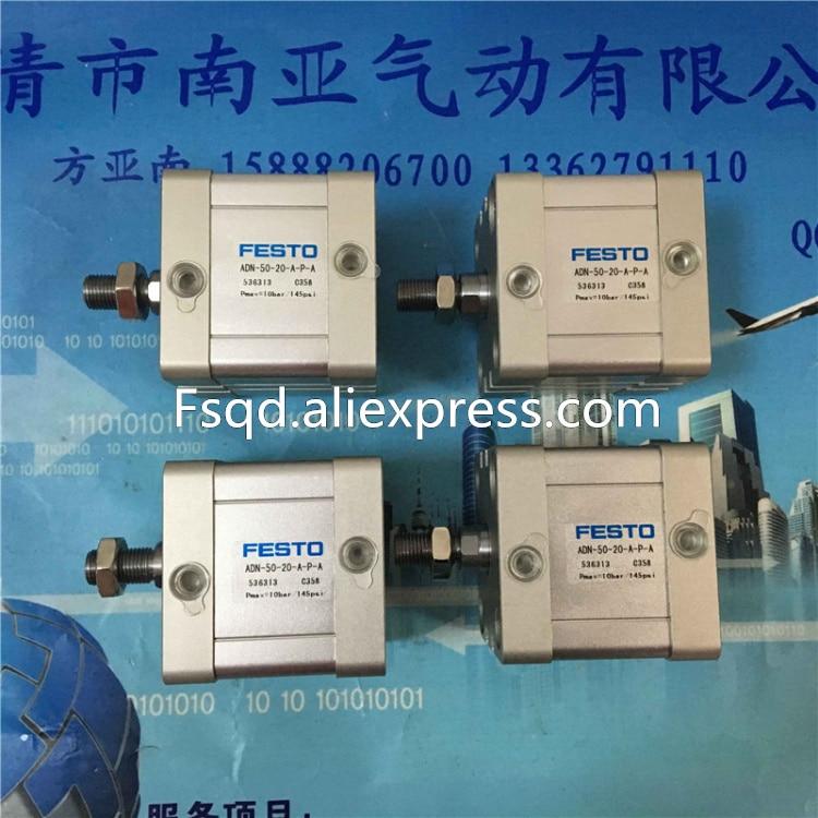 ADN-50-20-A-P-A ADN-50-25-A-P-A ADN-50-30-A-P-A Compact cylinders Pneumatic components , ADN series adn 100 5 a p a adn 100 10 a p a adn 100 15 a p a compact cylinders pneumatic components adn series