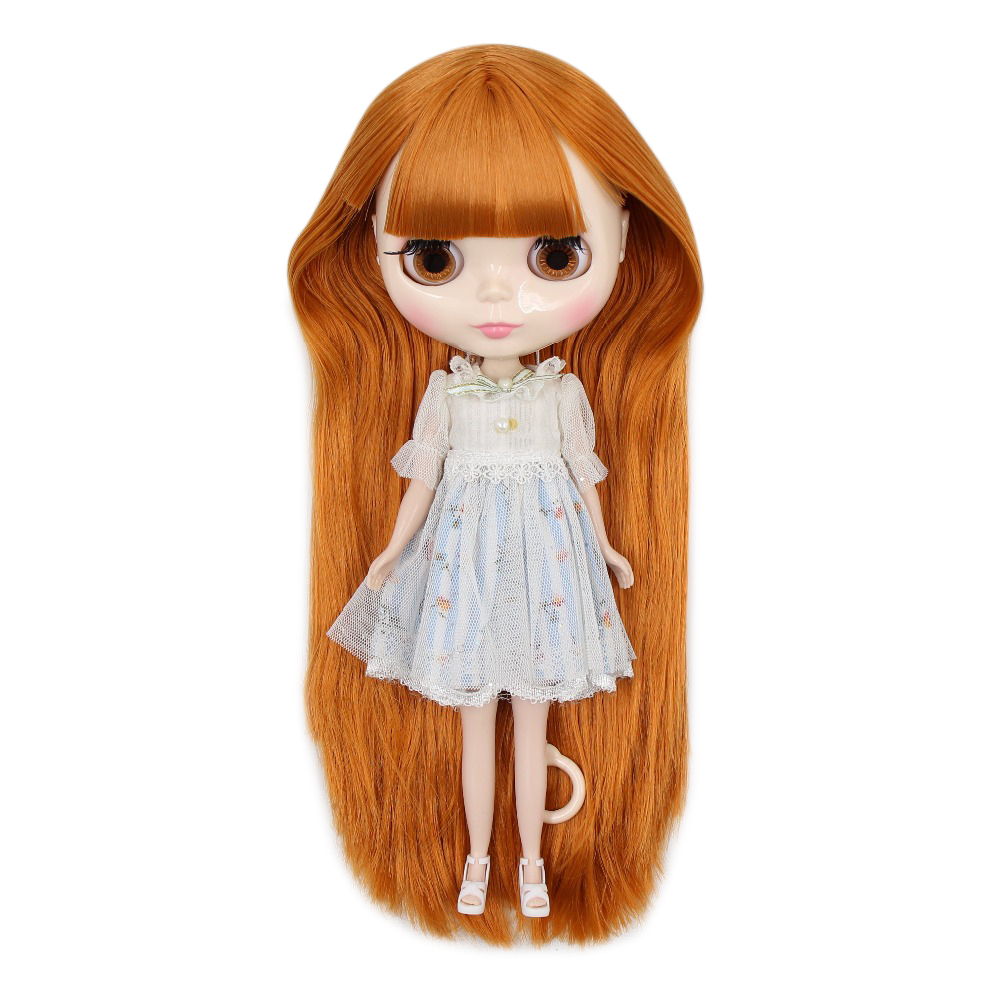 factory blyth doll normal body white skin golden orange hair BL0145 1 6 30cm