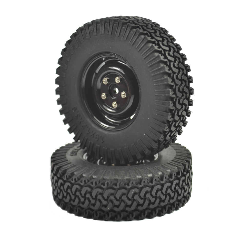 2PCS 1 10 Crawler Tire Set 1 9 With Foam Insert for RC Crawlers 1 10