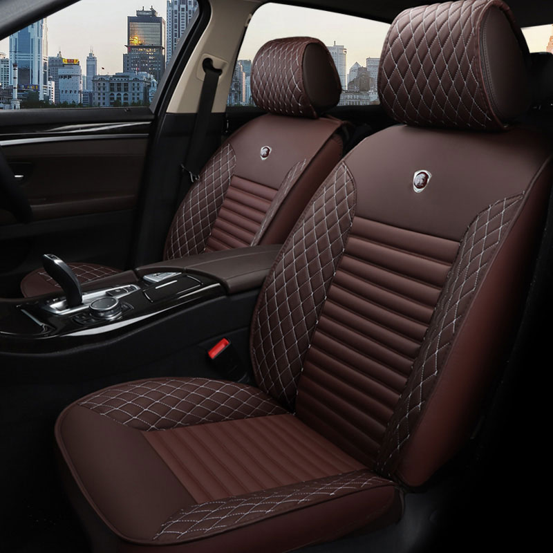 leather auto universal car seat cover cushion for land rover sport x9 evoque land-rover-freelander-2 changan cs35 cs75 roewe 550