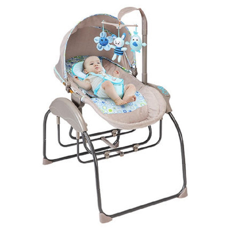 Marvelous Us 120 25 35 Off Baby Electric Rocking Chair Recliner Comfort Chair Baby Cradle Bed Baby Sleep Artifact Newborn Automatic Shaker In Cradle From Bralicious Painted Fabric Chair Ideas Braliciousco