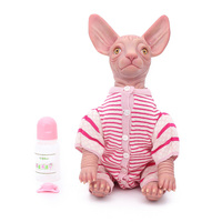 OtardDolls Rabbit dolls kawaii Cartoon rabbit doll Soft Silicone Reborn baby toys Dolls for girls Birthday Christmas Gift