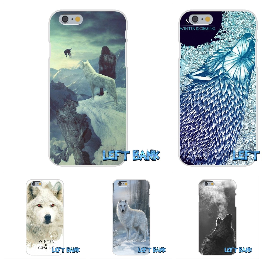 For Samsung Galaxy A3 A5 A7 J1 J2 J3 J5 J7 2015 2016 2017 games Of Thrones White Wolf Silicon Soft Phone Case Cover