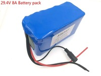 24 In 8AH 7S4P 8000 Much 18650 Lithium Battery For A Small Engine Led Lamps Use