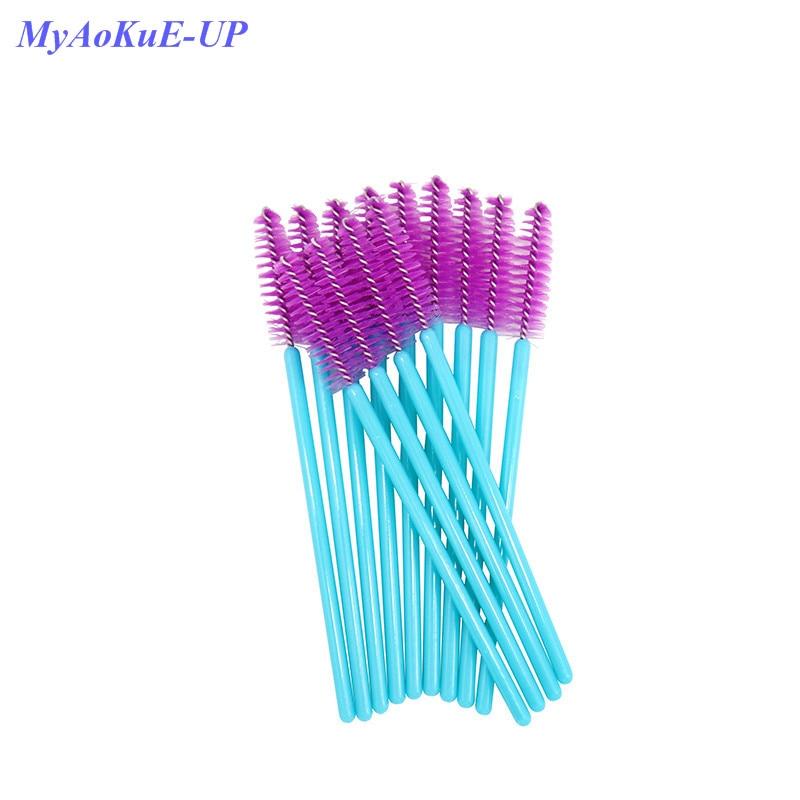 200pcs/lot Lashes One-off Makeup Brushes Brand New Disposable Nylon Mascara Wands Eyelash Extension Tools