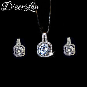 DIEERLAN Rhinestone Jewelry Se