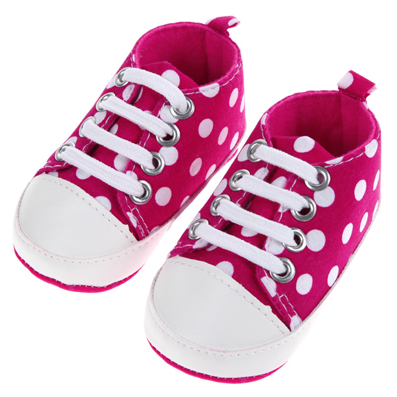 Baby Shoes Dot Toddler Shoes For Kids Girls Boy Soft Sole Sneaker Prewalker Footwear Shoes For Babies Newbrons Infantil Winter