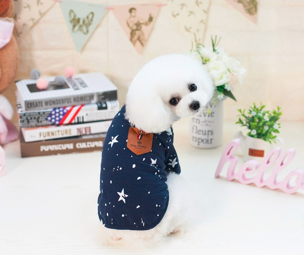 New Cute Japan Style Dogbaby Pet Dogs T-Shirt Coat New Puppy Dogs Spring Summer Clothing Shirt For Dog