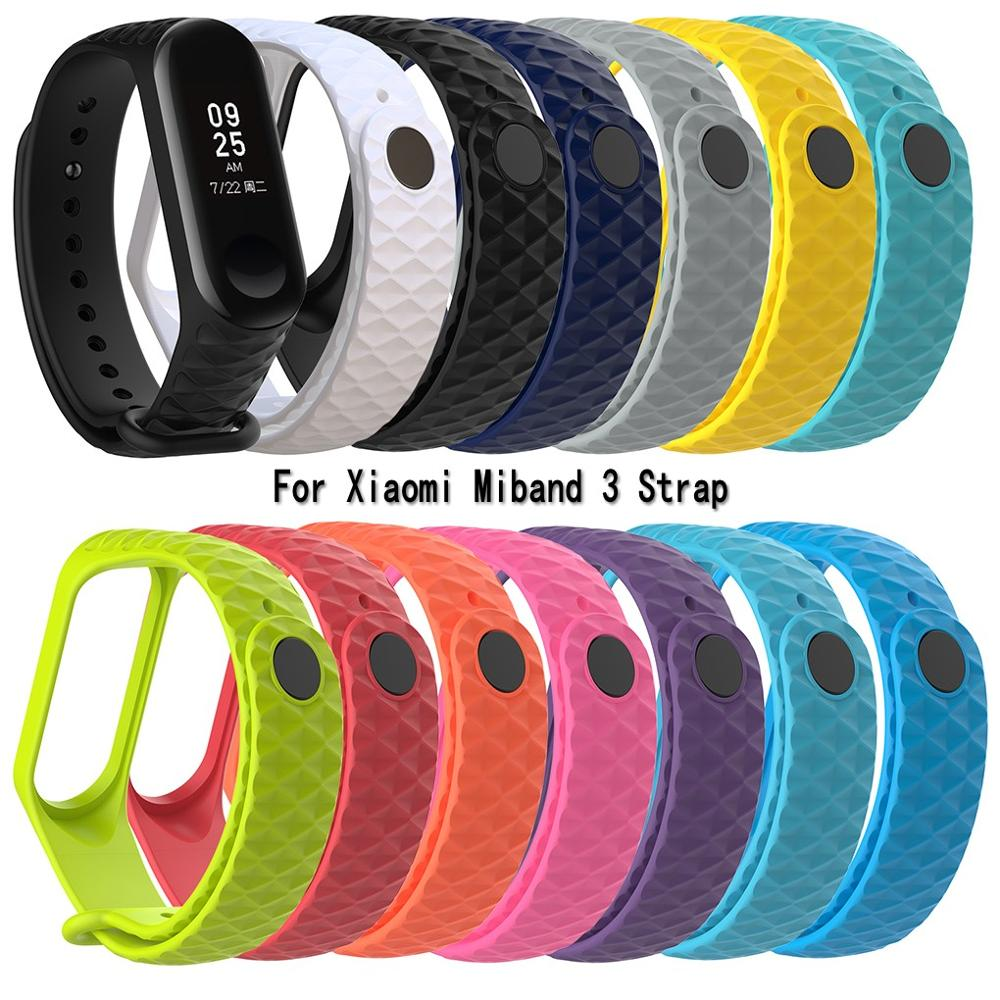 Strap Wristband Mi-Band Sport Watch Xiaomi Smart Replacement for 3-Tpu/colorful