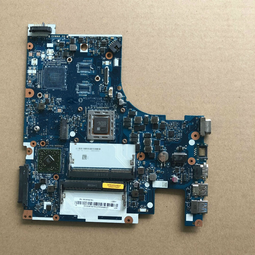 Working perfectly ACLU7/ACLU8 NM-A291 A8 Mainboard For Lenovo Z50-75 G50-75 Laptop MotherboardWorking perfectly ACLU7/ACLU8 NM-A291 A8 Mainboard For Lenovo Z50-75 G50-75 Laptop Motherboard