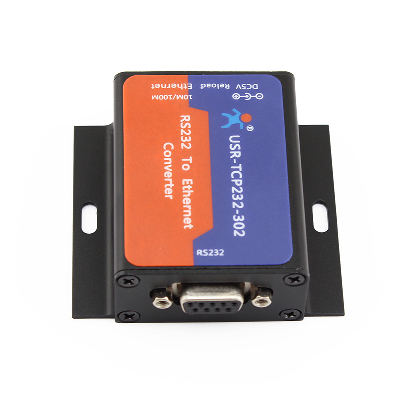 Serial RS232 To TCP IP Server Module Ethernet Converters,  Support DHCP/DNS, 200 Up