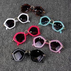 5daede72f368 curtain glasses Baby girls Retro Frame children sunglasses