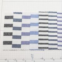 100 м 100% хлопок пряжи окрашенные промывают полосатой ткани