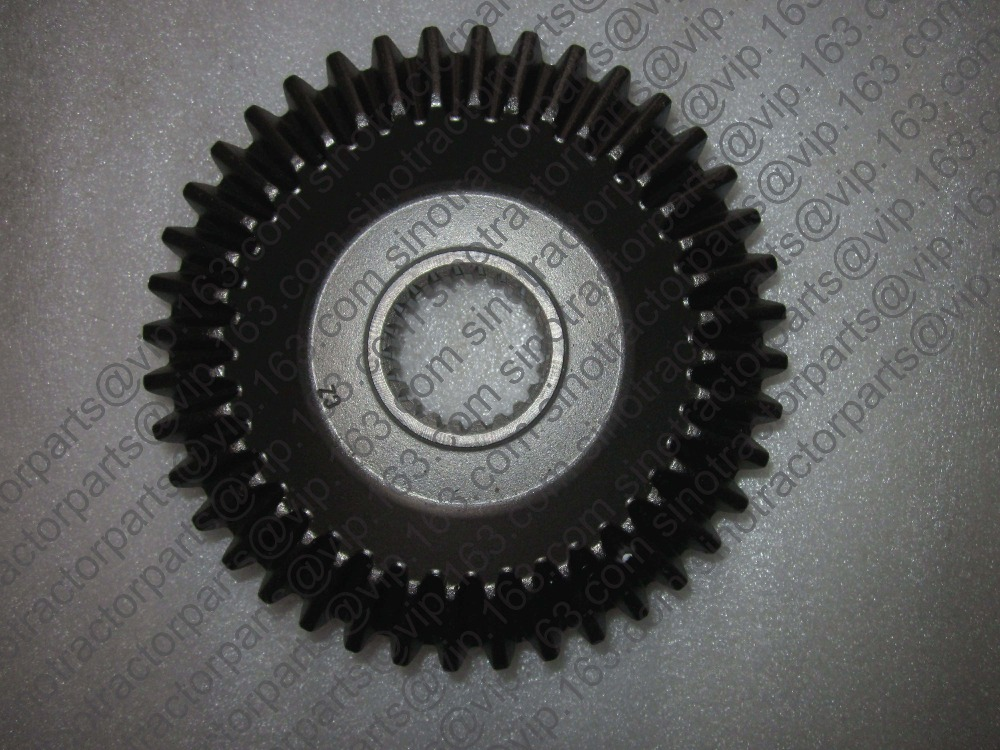 ФОТО Dongfeng DF404 tractor parts, the driving bevel gear and driven bevel gear with bearing 305