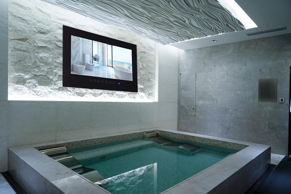 Aliexpress.com : Buy Souria 55inch Black Hotel TV Bathroom Full HD ...
