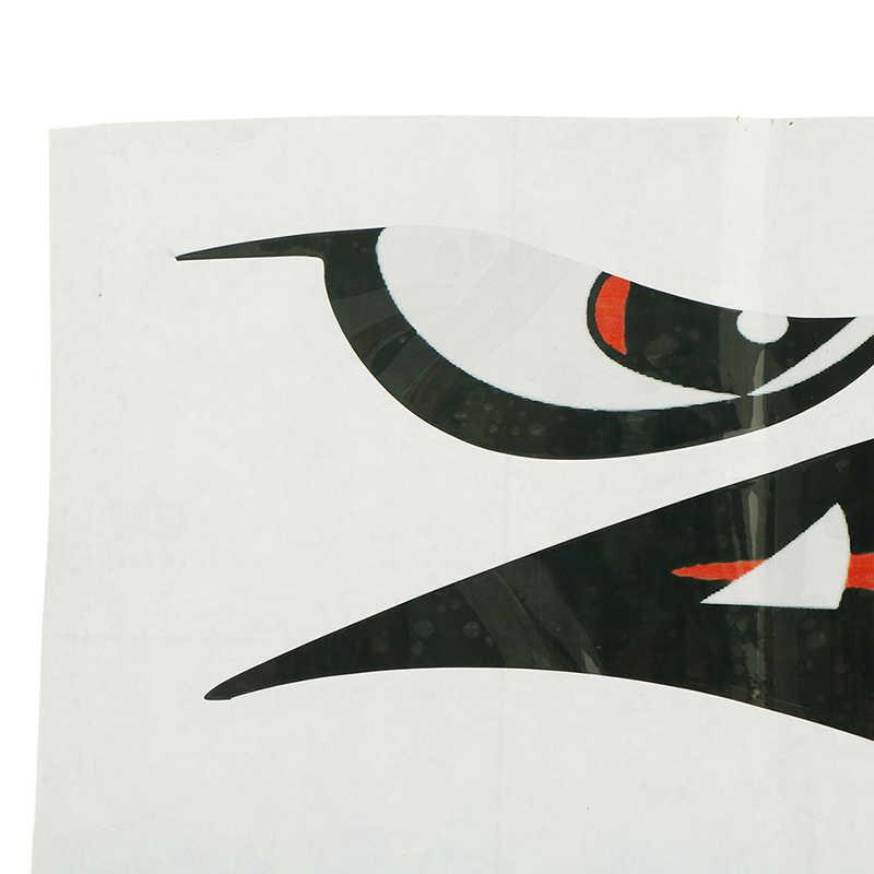 1 paar DIY Wasserdichte Lustige Shark Zähne Mund Vinyl Wand Aufkleber Aufkleber Auto Shark Tier Auto Styling Dekoration 38*13CM