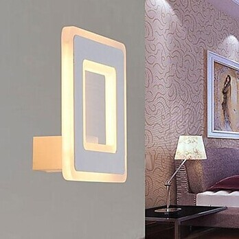 led Wall Sconce,Simple Modern White Artistic LED Wall Lamp Light For Bedroom Home Lighting,Bulb Included contemporary led wall lamp with butterfly lampshade for bedroom foyer 15w wall sconce white warm white indoor lighting lamp