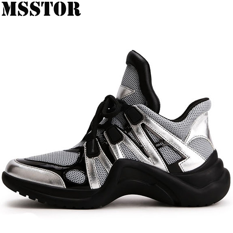MSSTOR Women Running Shoes Woman Brand Summer Breathable Mesh Sport Shoes For Women Outdoor Athletic Womens Sneakers Sports Run
