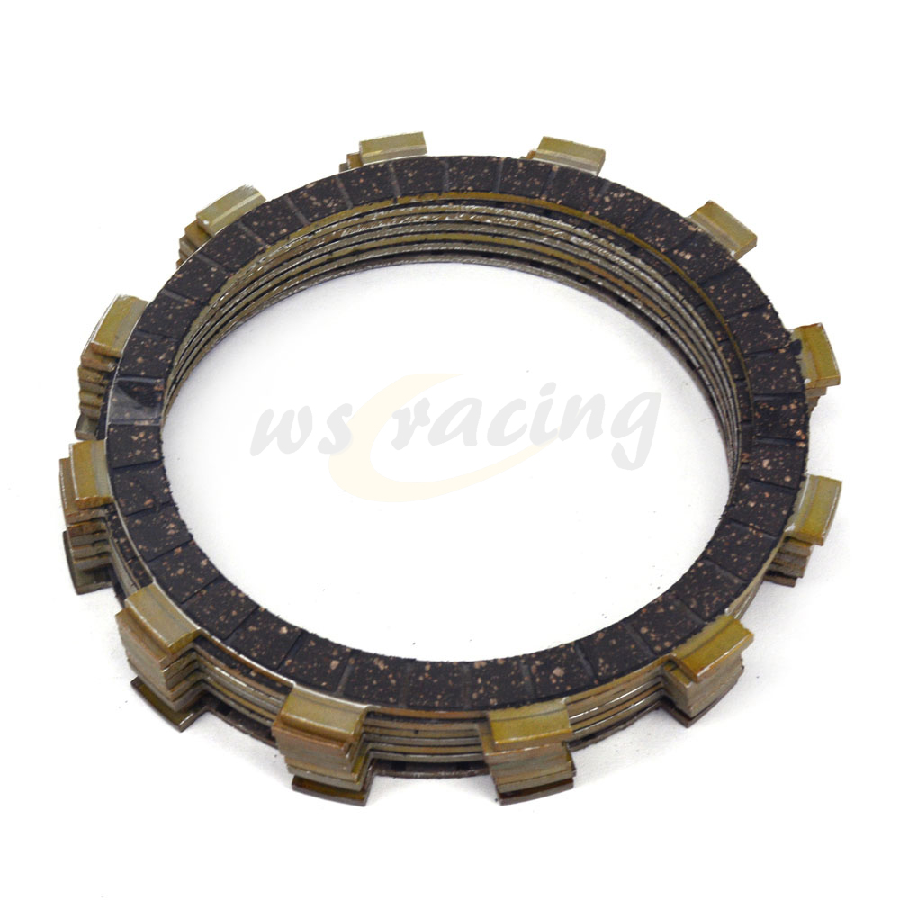 8 Pcs Motorcycle Engine <font><b>Parts</b></font> Clutch Friction Plates Fit For <font><b>YAMAHA</b></font> XT500 SRX600 TT600 <font><b>XT600</b></font> XT600E YFM660R YFM660RLE YFM660RSE image
