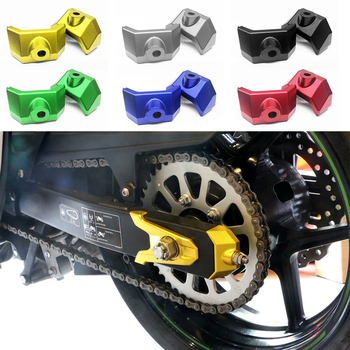 CNC Motorcycle Rear Fork Chain Adjuster Block Cap 6 Colors for Kawasaki Z 800 for Kawasaki Z800 2013-2016 Motorcycle Accessories