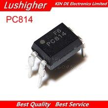 10 قطعة PC814 DIP4 EL814A DIP EL814 LTV 814 LTV814 جديد الأصلي IC