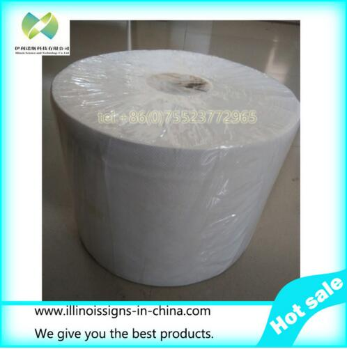 ФОТО Roll 24cm*200m non-woven cloth fabric clean room wipes for inkjet printer.
