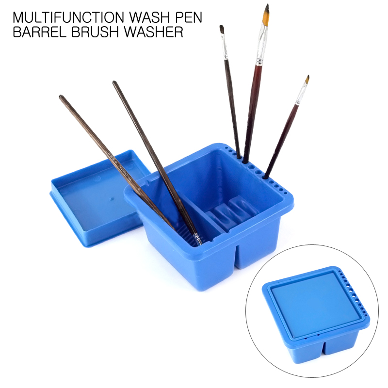 High Quality Paint Brush Washing Bucket Multifunction Wash Pen Barrel Brush Washer For Art Supplies Painting ToolsHigh Quality Paint Brush Washing Bucket Multifunction Wash Pen Barrel Brush Washer For Art Supplies Painting Tools