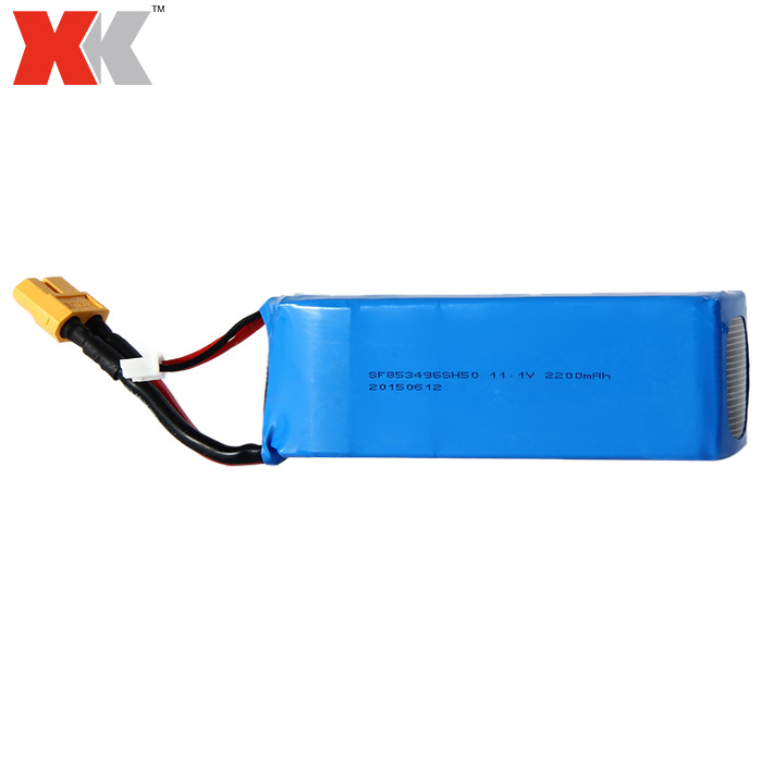 XK X350 Quadcopter Accessory 11.1V 2200mAh Battery X350 - 015 XK X380 Quadcopter Batetry Spare Parts Free Shipping extra spare 5400mah 11 1v 20c battery fitting for xk detect x380 remote control quadcopter