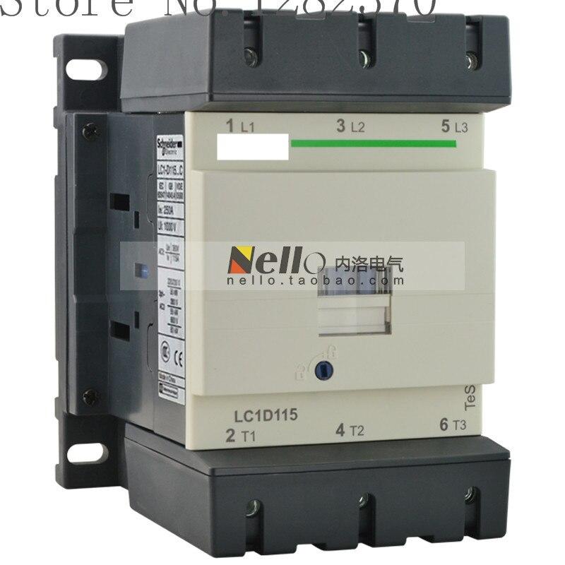 [ZOB] Authentic original AC contactor coil AC24V/36V/48V/110V/220V/380V LC1D11500F7C/Q7C/C7C/M7C/B7C/E7C 115A LC1D115