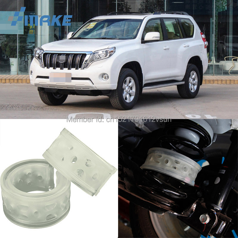 smRKE For Toyota Prado Car Auto Shock Absorber Spring Buffer Bumper Power Cushion Damper Front/Rear High Quality SEBS kyb car right front shock absorber 339232 for toyota highlander auto parts