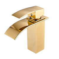 Modern Monobloc Basin Sink Mixer Tap Chrome Designer Bathroom Lever Faucet
